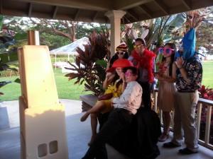 Photo booth fun on Maui!