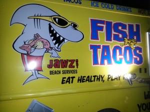 Maui fish taco truck