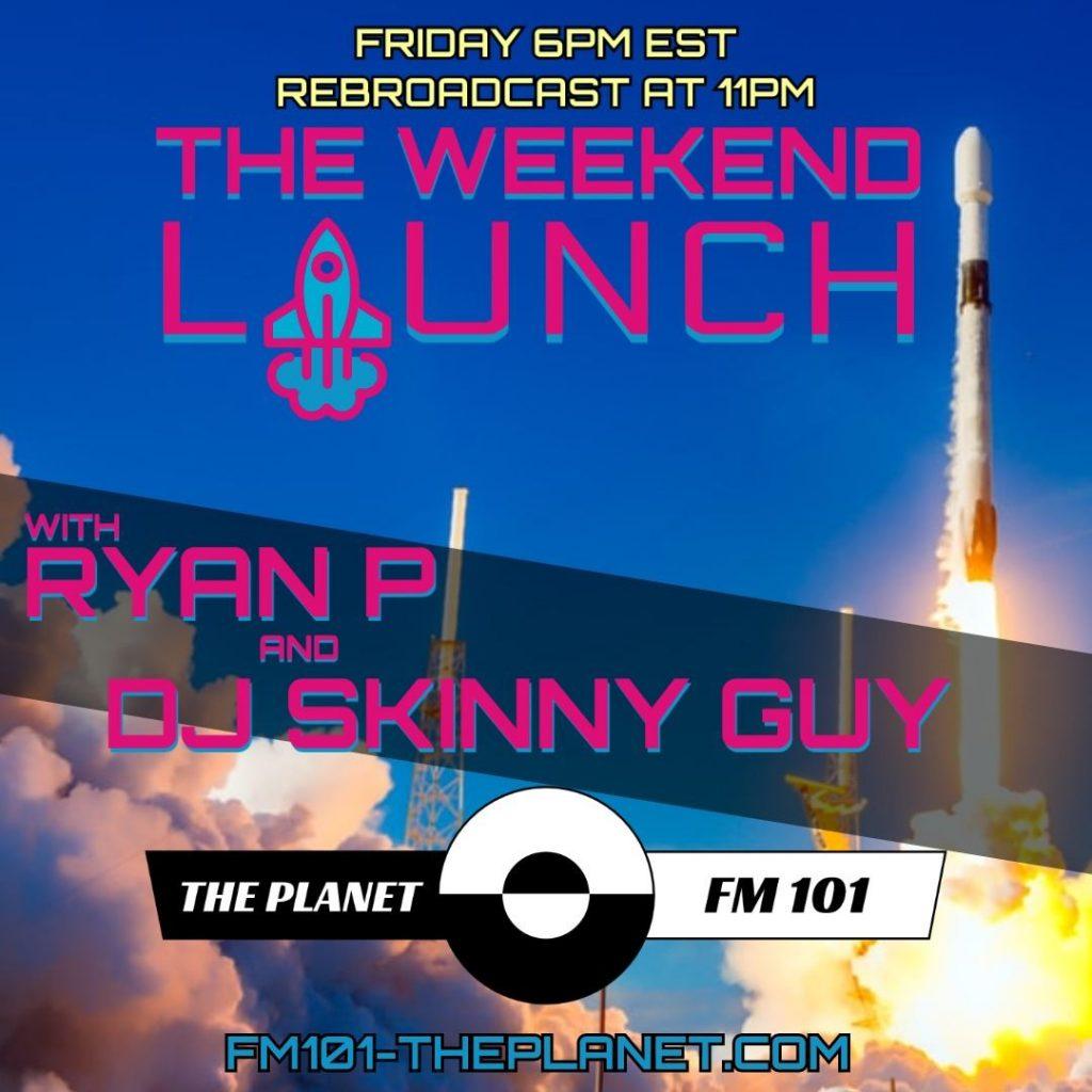 Flyer for online DJ mixshow